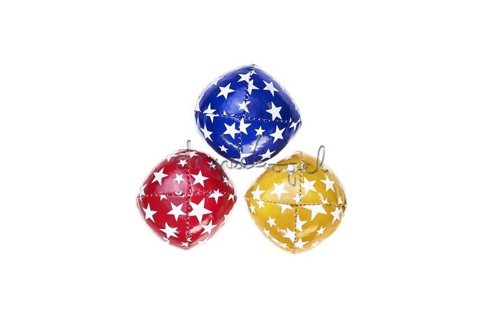515773 Acrobat Jongleerballen Junior 3st (80g.) blauw, rood en geel