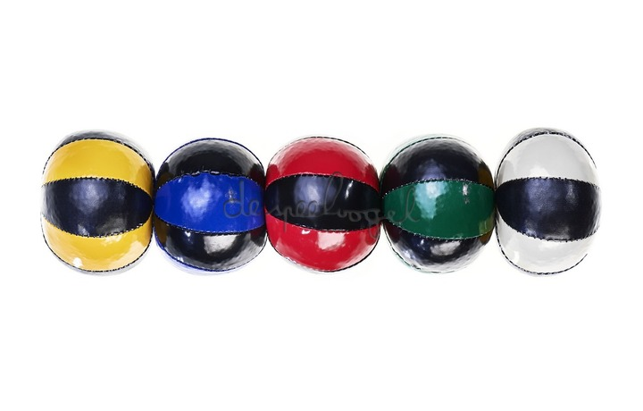 515775 Acrobat Jongleerballen 3st (120g.) (bicolor mix)