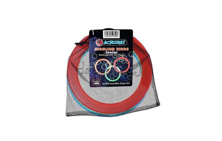 515791 Acrobat Jongleer ringen Junior 3st (d.24cm)