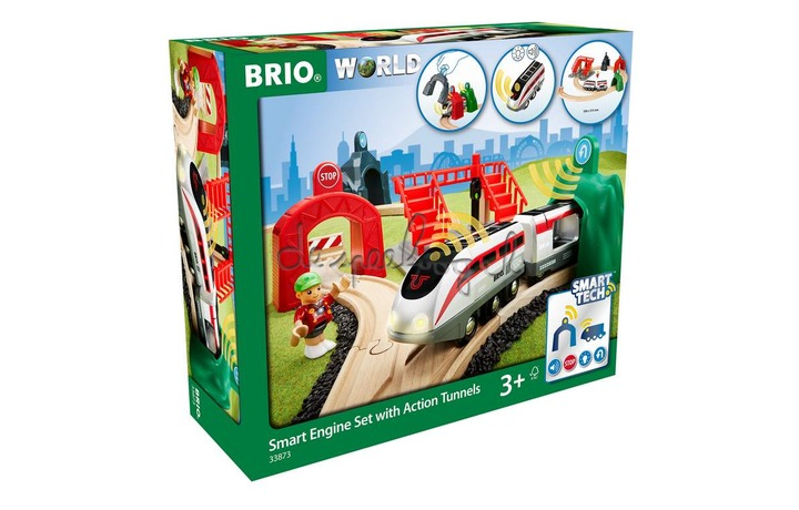 33873 Smart Tech - Trein Travel Set