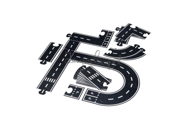 Puzzel snelweg/spoorweg 6 meter