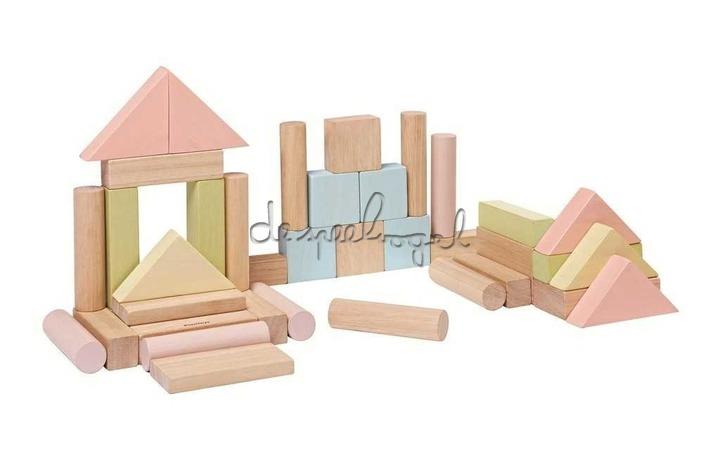 5507 Blokken 40st - Pastel
