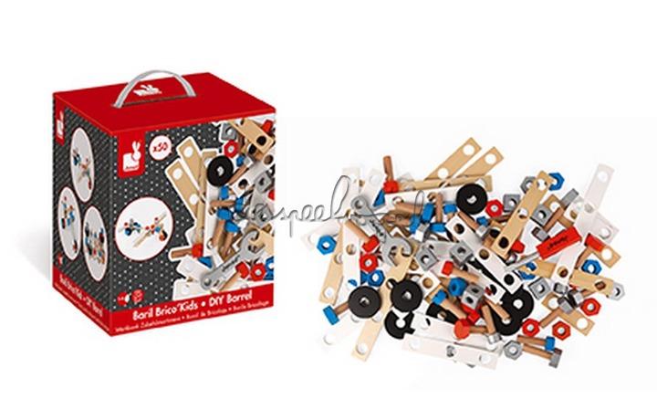 J06480 Koffer Brico'Kids 50 Onderdelen