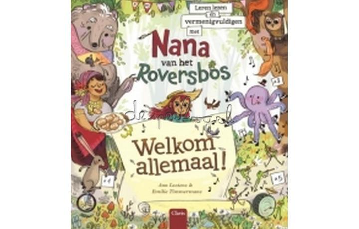 Leren lezen en vermenigvuldigen met Nana van het Roversbos / Lootens, Ann