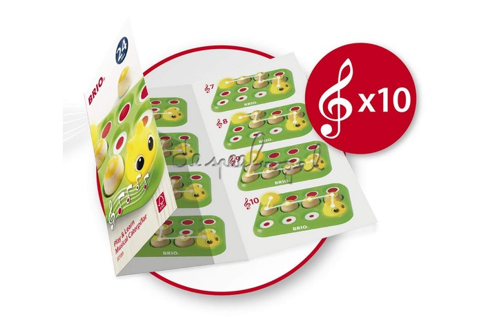 30189 Speel en leer - Muzikale rups