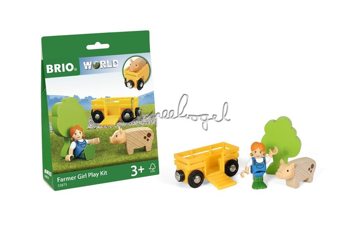 33875 Farm Play kit Farmer with Pig