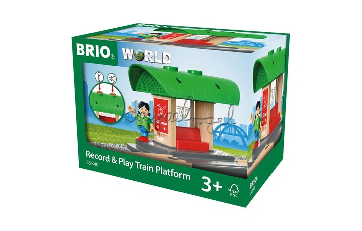 33840 Record and Play Trein Station