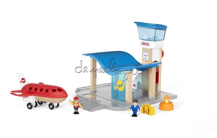 33883 Luchthaven met controletoren