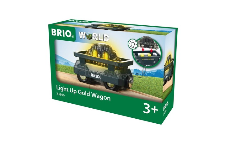 33896 Light Up Gold Wagon