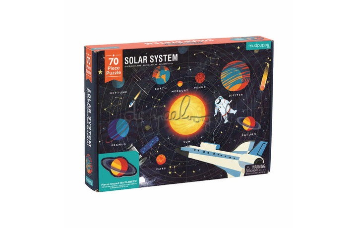 355195 Geography Puzzle/Solar System, 70 st