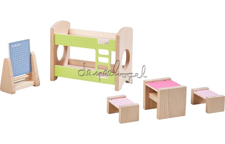 303836 Little Friends - Poppenhuismeubels Kinderkamer voor twee
