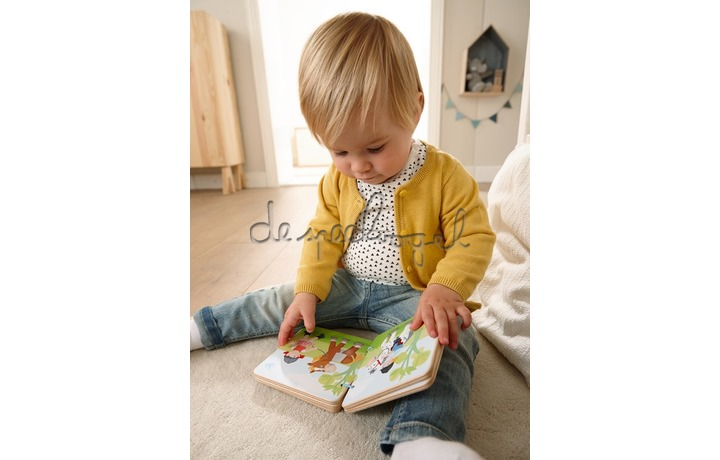 303774 Houten babyboek Manege