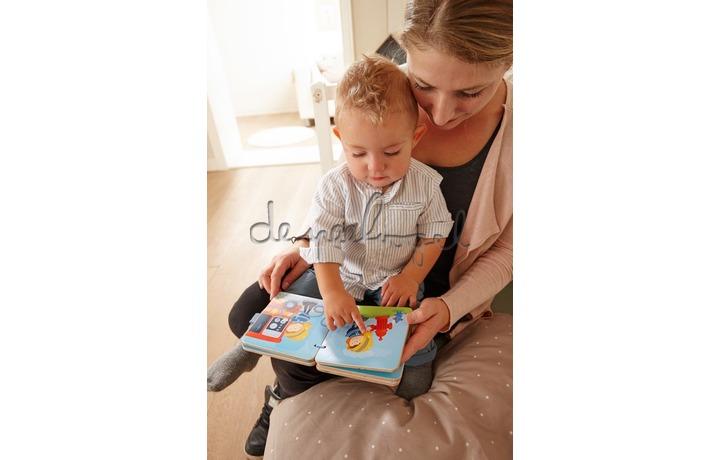 303776 Houten babyboek Brandweer