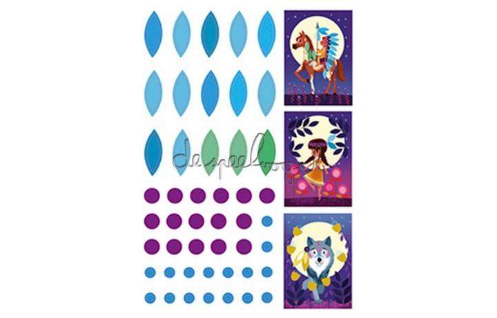 CO166 Creative box, Sticker boards Nature