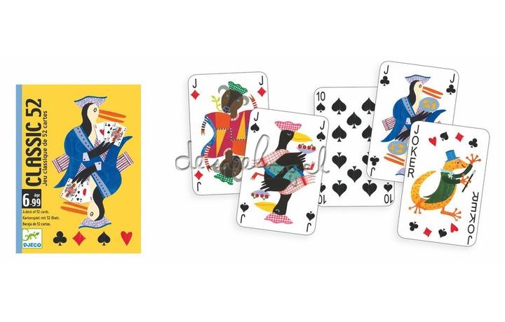 DJ05100 Classic speelkaarten 52