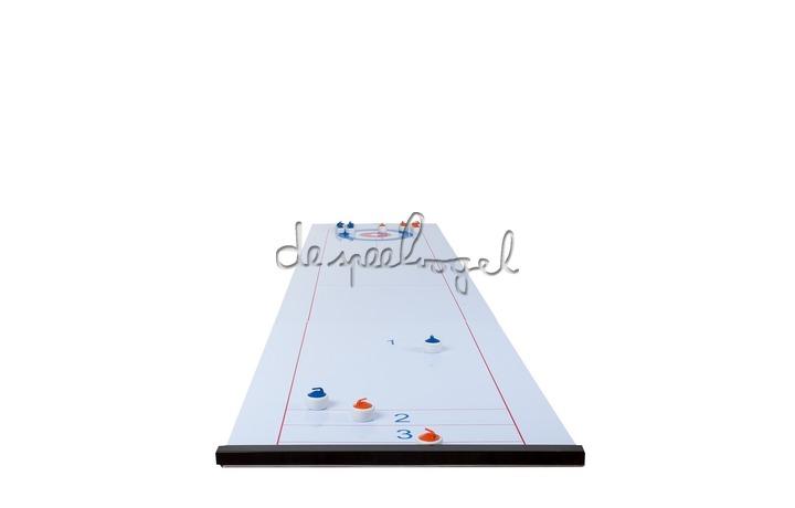 340500 Longfield Curling Shuffle board 2 in 1