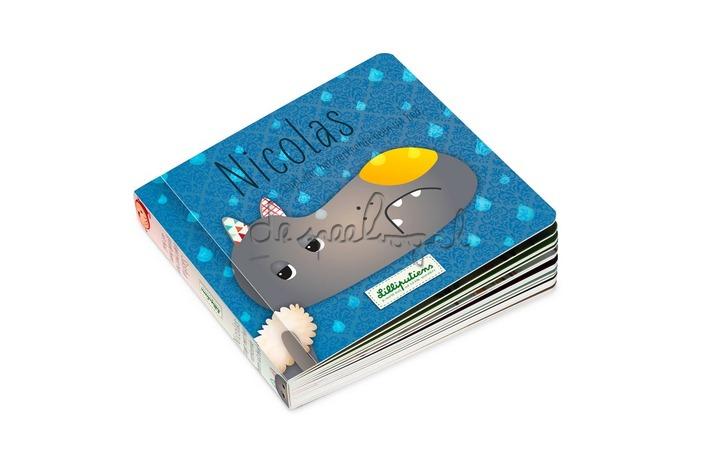 85056 Omkeerbaar boek Nicolas stapt met het verkeerde been uit bed