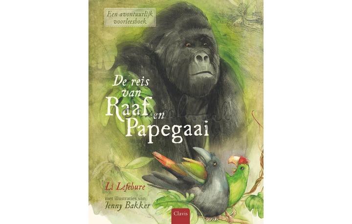 De reis van Raaf en Papegaai / Lefébure
