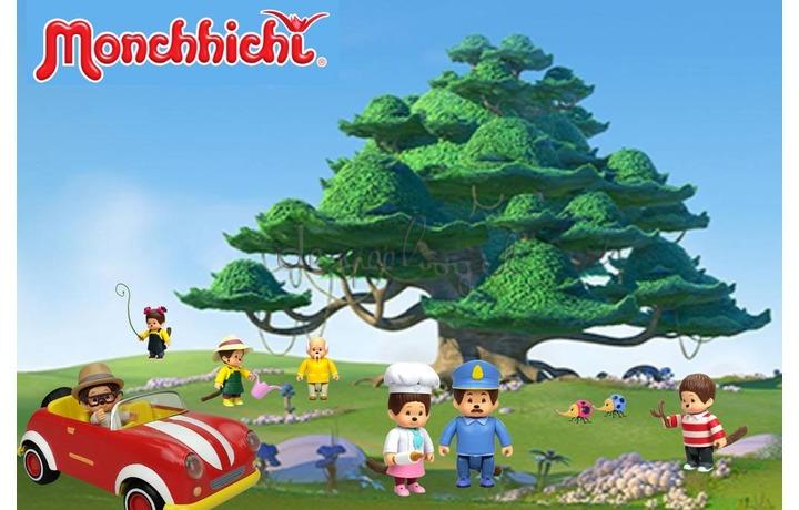 81511 Monchhichi TV - Pollinia