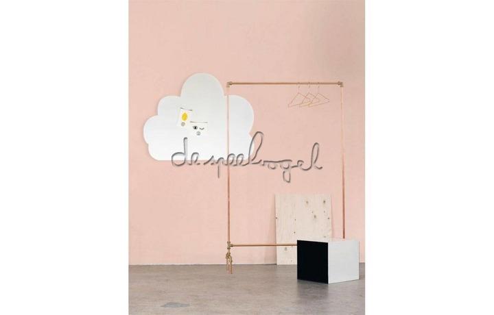 Whiteboard Wolk XL 95 x 80 cm