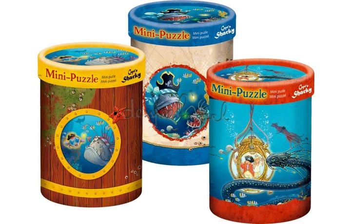 13828 Mini puzzel Capt'n Sharky