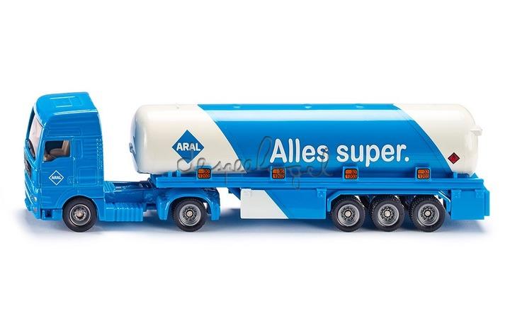 1626 Vrachtwagen met oplegger ARAL
