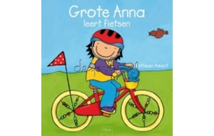 Grote anna leert fietsen / K.Amant