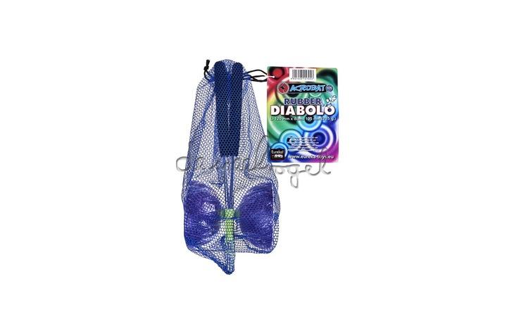 515705 Acrobat Diabolo Paars + aluminum handstokken