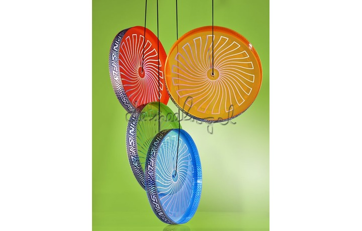 Flip N Flyer 515822 Acrobat Spin & Fly Juggling Frisbee - Groen