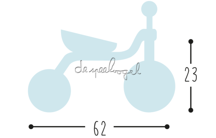 2514 FITSCH PUKY Caddy-Play Lichtgrijs met stickers