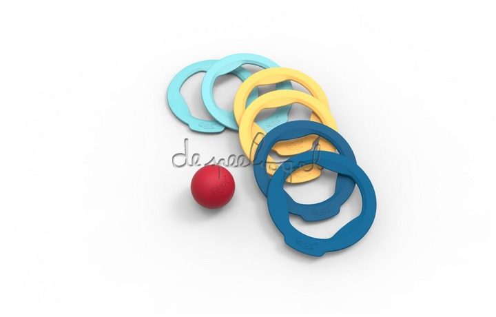 171317 Quut Ringo combination (6 rings + ball)