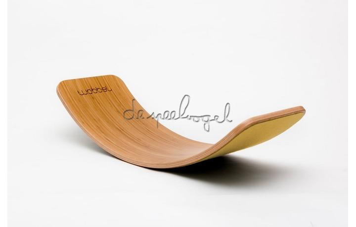 Wobbel Original Bamboe vilt Mosterd Geel