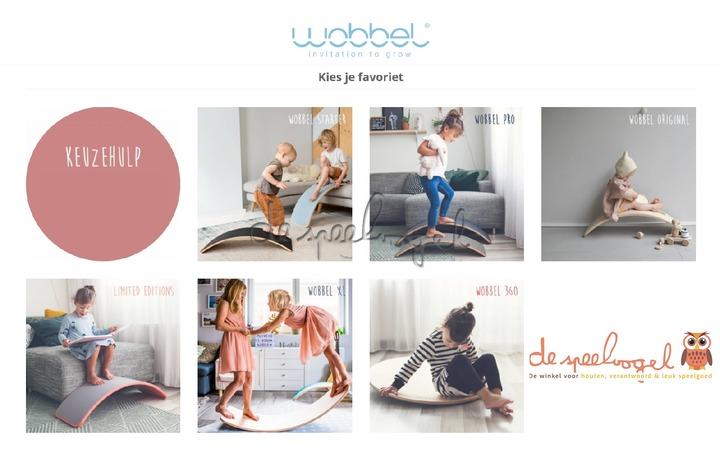 Wobbel Original Koraal Lim Ed.