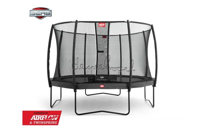 BERG Champion grijs 330/380/430 + Safety Net Deluxe