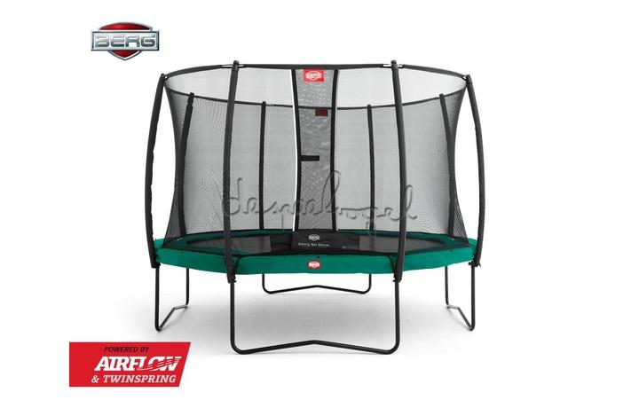 BERG Champion groen 270/330/380/430 + Safety Net Deluxe