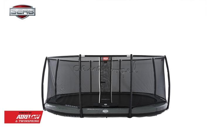 30.43.75.30 BERG Grand Elite InGround 520 grijs + Safety Net Deluxe