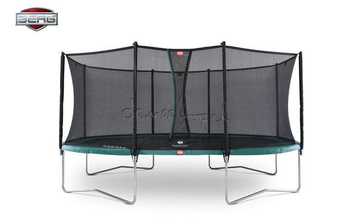 BERG Grand Favorit Regular 520 groen/grijs + Safety Net Comfort