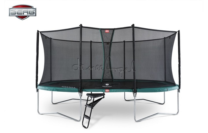 BERG Grand Favorit Regular 520 groen/grijs + Safety Net Comfort