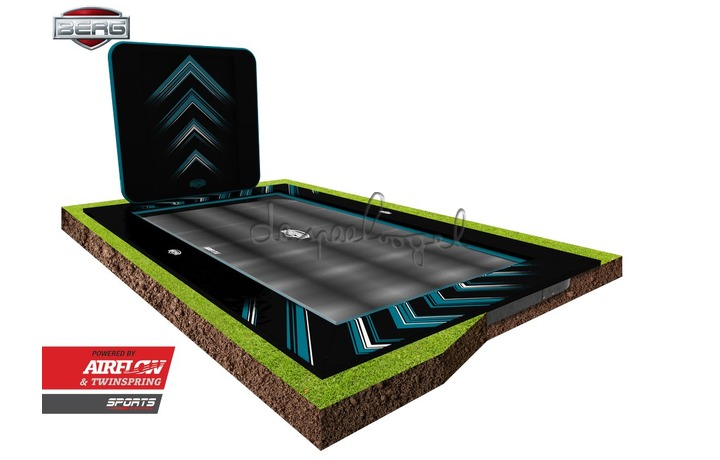 32.41.85.40 BERG Ultim Elite FlatGround 500 Black + AeroWall 2x2 Black