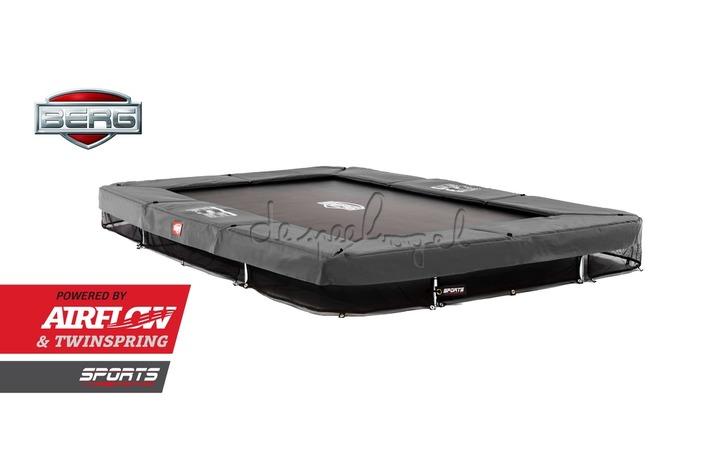 BERG Ultim Champion - InGround + Safety Net /Op bestelling