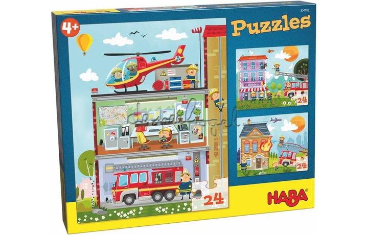 304186 Puzzels - Kleine brandweerkazerne