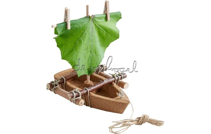 304244 Terra Kids - Bouwpakket Kurken boot