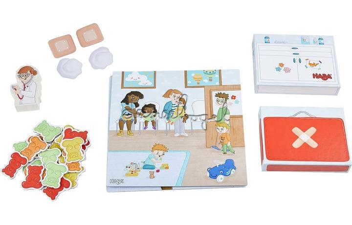 304650 Spel - Mijn eerste spellen - Bij de kinderarts