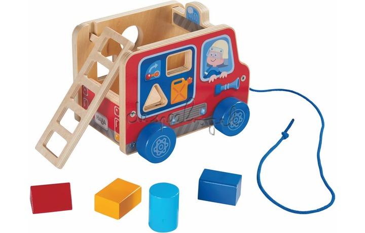 304317 Trekfiguur Brandweerauto