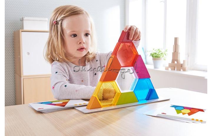 304736 Stapelspel Kleurenkristallen