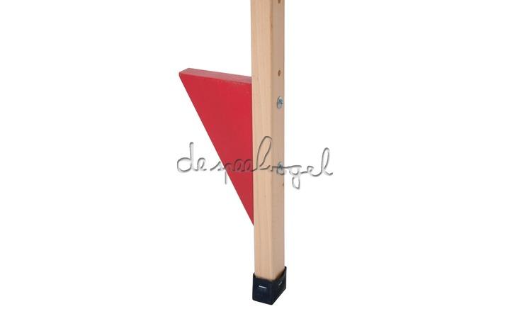 604012 Stelten hout blank