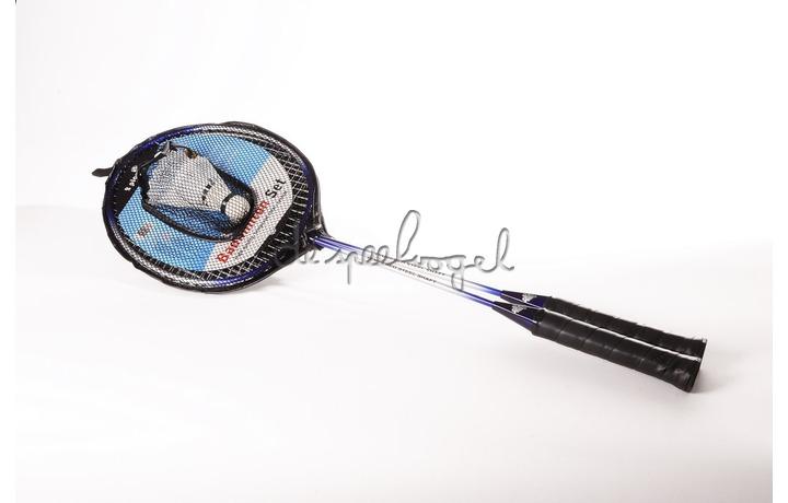 857030 Set badminton, 2 spelers met 2 shuttles