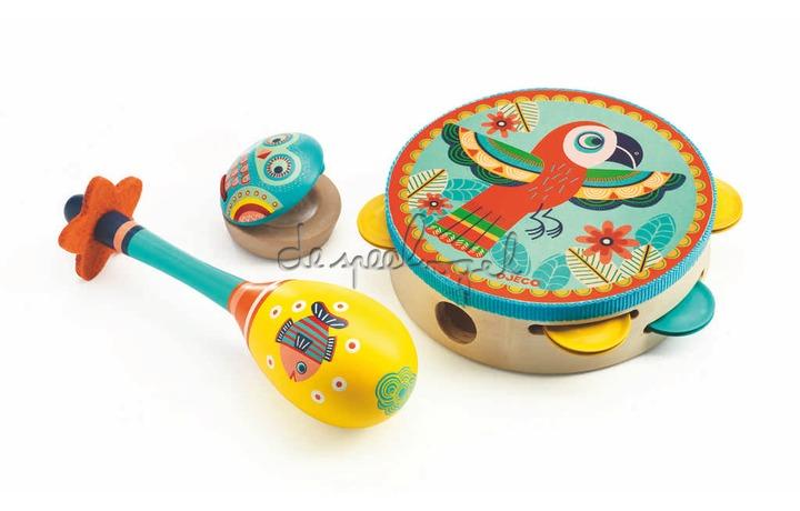 DJ06016 Animambo - Set van 3 instrumenten