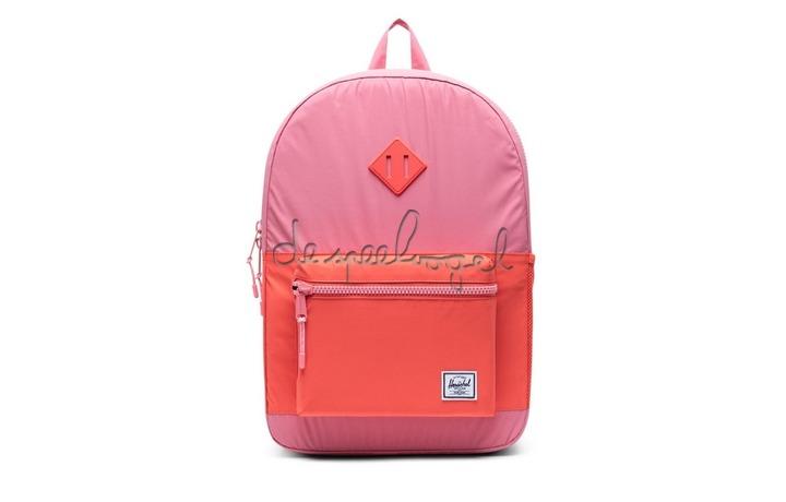 10560-03081 Rugzak Heritage Youth XL Flamingo Pink /Hot Coral Reflective