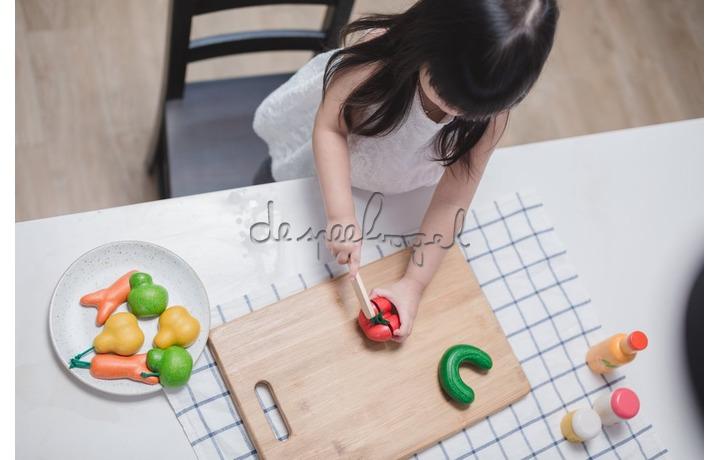 3495 Kromme groenten set